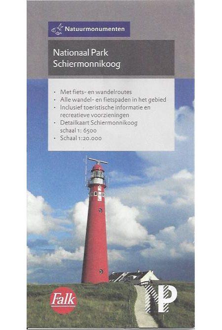 Falk kaart Nationaal Park Schiermonnikoog